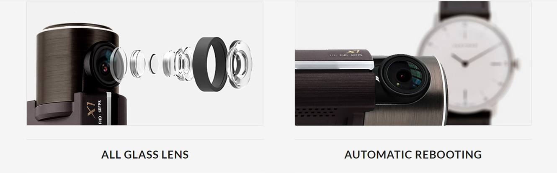 انواع لنز دوربین خودرویی