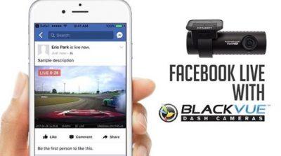 دوربین خودرو و facebook youtube