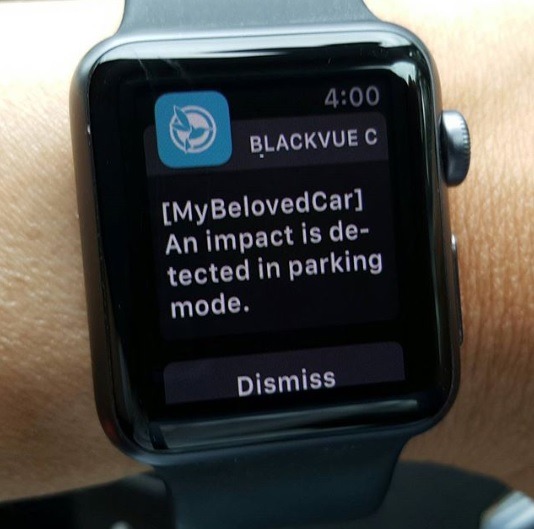 دوربین خودرو apple watch