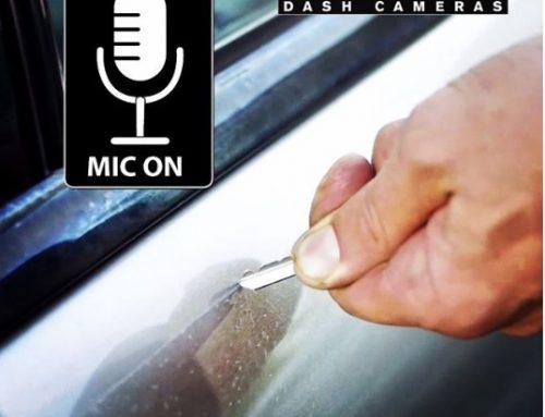 ضبط صدای خش زدن با دوربین خودرو