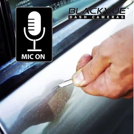 record of sound-blackvue-دوربین خودرو یکتانگر