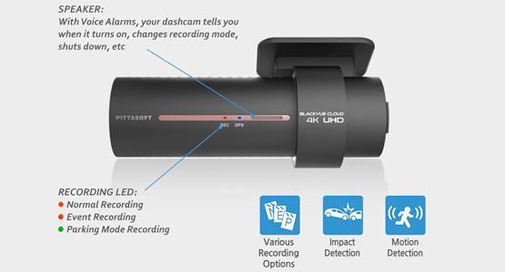 دوربین خودرو شرکت یکتانگر اصفهانblackvue-dr900s-dash-cam-speaker-impact-motion-detection