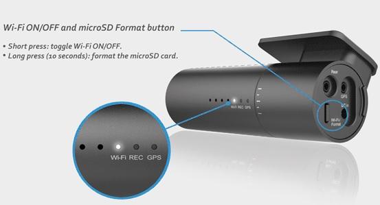 دوربین خودرو BLACKVUE590W FHD-دوربین خودرو هوشمند-جعبه سیاه خودرو wifi-blackvue