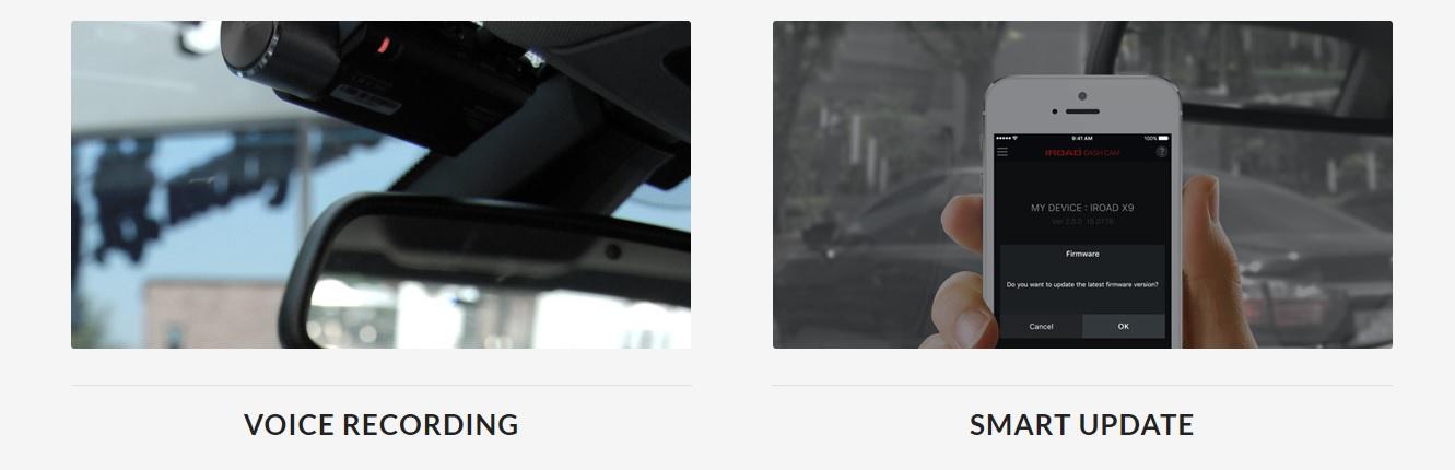 دوربین خودرو IROAD x9-دوربین هوشمند خودرو -جعبه سیاه خودرو-دوربین خودرو دیجیکالا