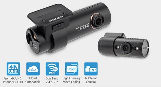 دوربین خودرو blackvue 4k IR -دوربین انلاین خودرویی - شرکت یکتانگر-wifi