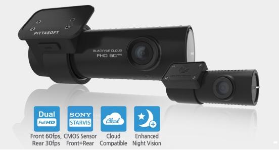 دوربین خودرو حرفهای بلک ویو فول اچ دی