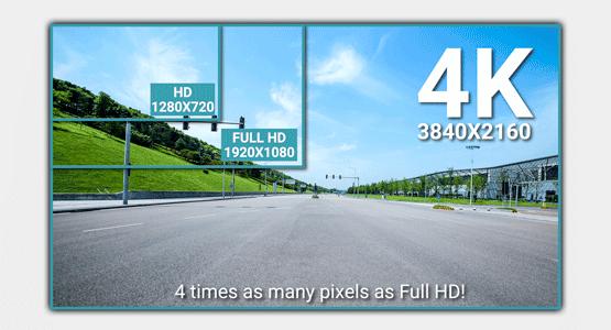 blackvue-4k-ultra-high-definition-uhd-vs-full-hd-4k دوربین خودرو یکتانگر