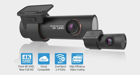 blackvue-dr900s-2ch-dash-cam-h.265-cloud-4k-uhd-dual-band-wi-fi- دوربین خودرو 4k شرکت یکتانگر
