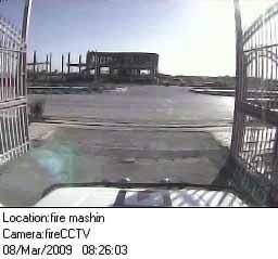 دوربین خودرو ، آتش نشانی آنلاین