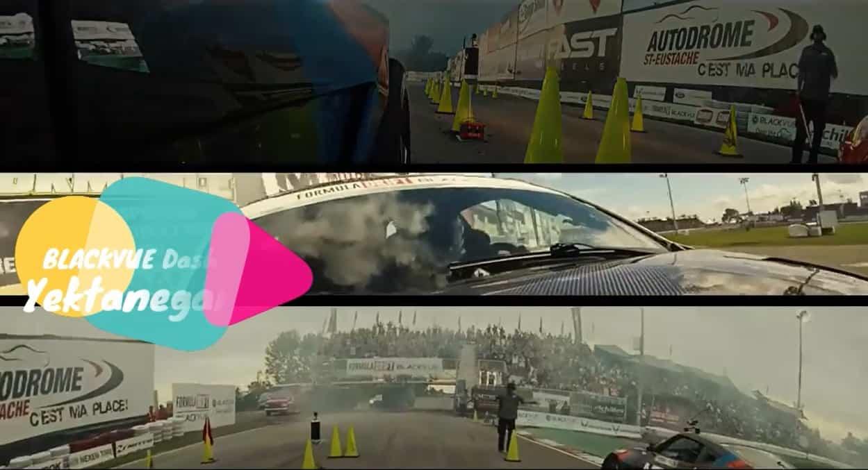 دوربین خودرو در مسابقات اتومبیلرانی