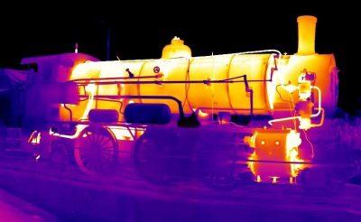 دوربین خودرو دید در شب - حرارتی پالایشگاه