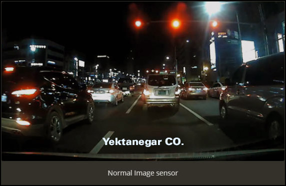 دوربین خودرو دید در شب yektanegar