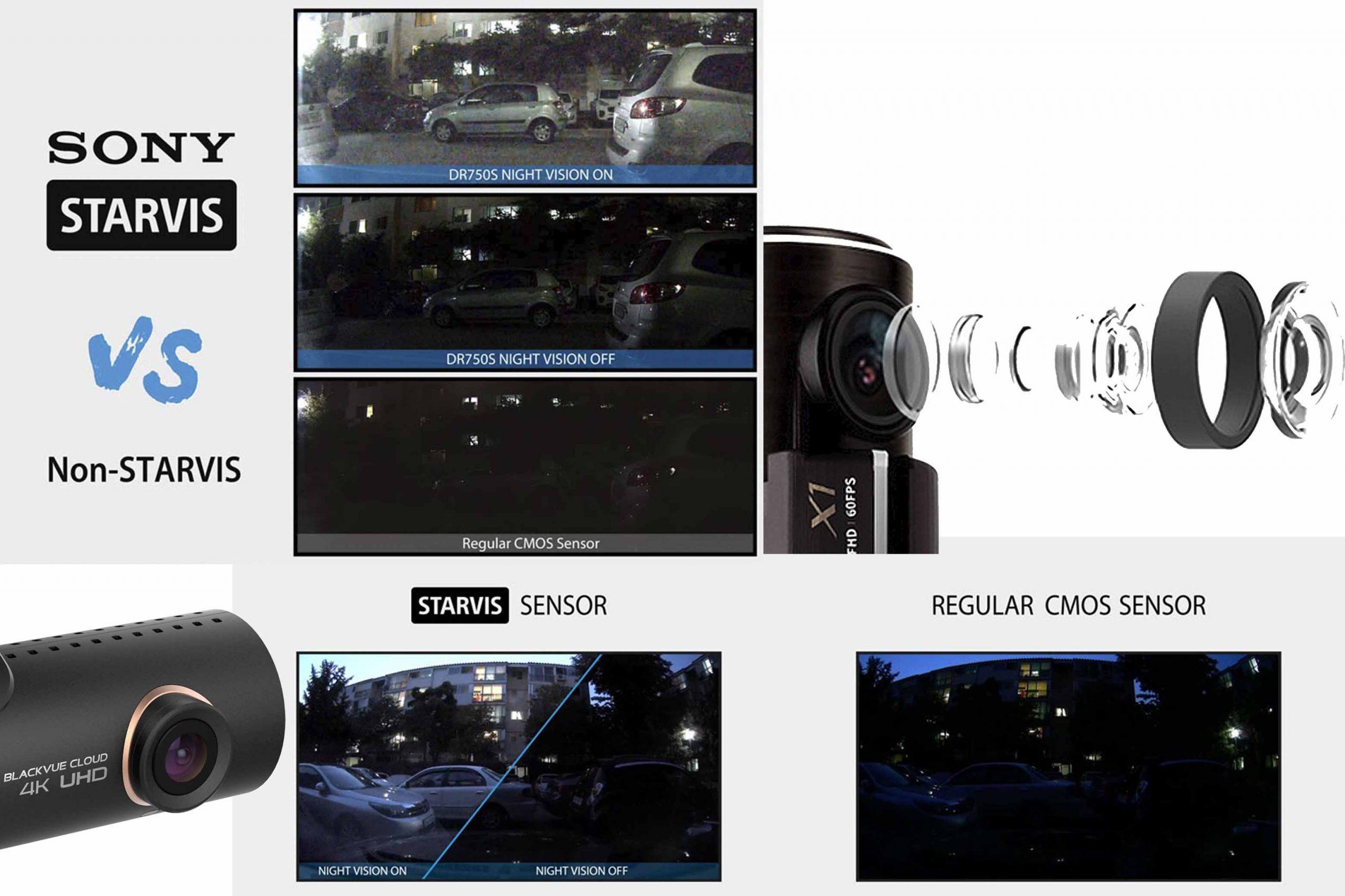 دوربین خودرو بلک ویو با قابلیت دید در شب و لنز شیشه ای مادون قرمز سونی IR