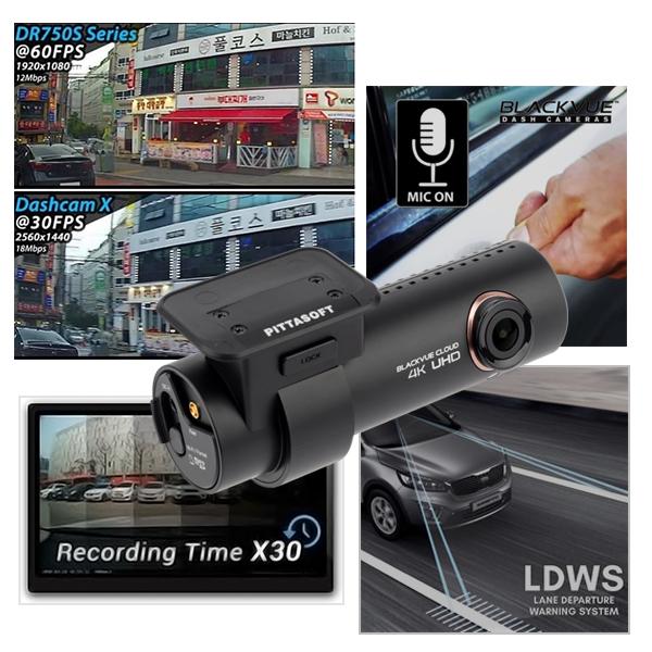 دوربین خودرو بلک ویو با قابلیت ضبط 60 فریم ضبط تایم لپس و هشدار راننده
