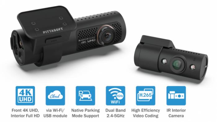 دوربین خودرو بلک ویو 4K IR مجهز به وای فای wifi