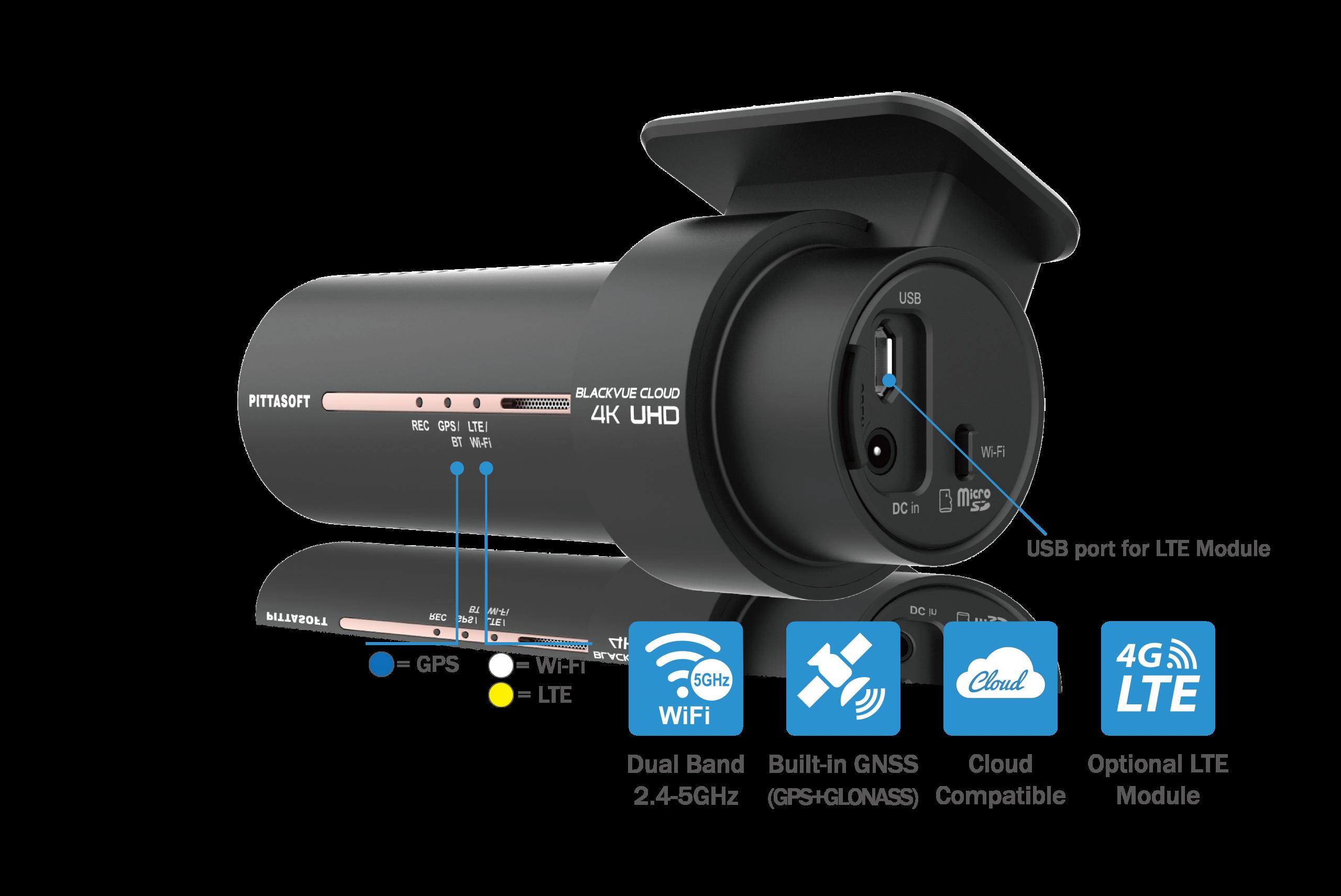 دوربین خودرو بلک ویو مجهز به جی پی اس gps