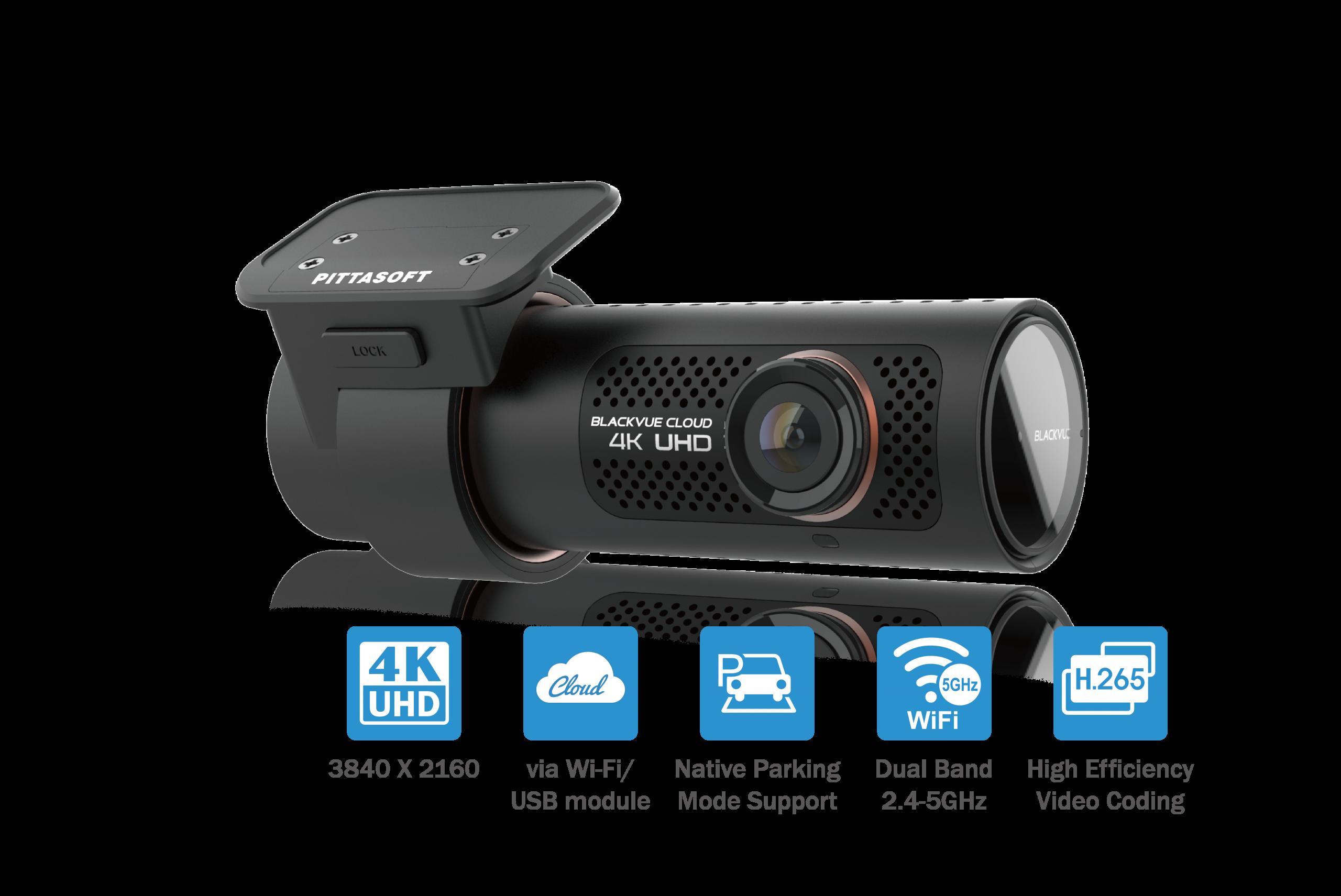 دوربین خودرو بلک ویو BLACKVUE DR900X 4K IR