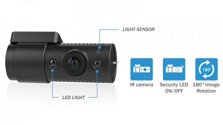 دوربین خودرو بلک ویو مجهز به مادون قرمز IR دید در شب سونی