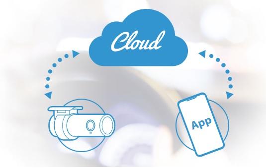 دوربین خودرو بلک ویو بر روی ابر Cloud