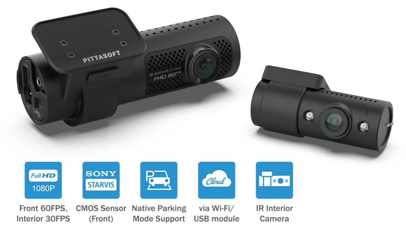 دوربین خودرو بلک ویو با قابلیت مادون قرمز IR