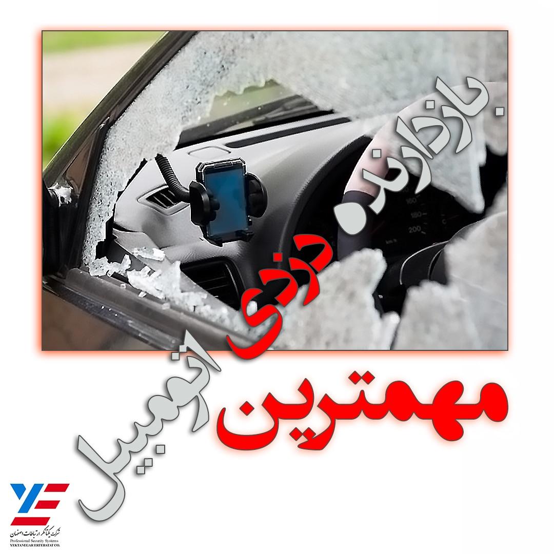 دوربین خودرو مهمترین بازدارنده سرقت خودرو
