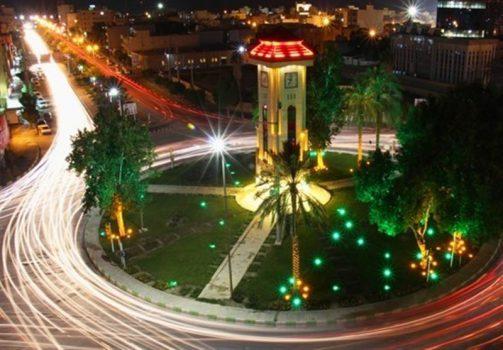 دوربین خودرو در بوشهر
