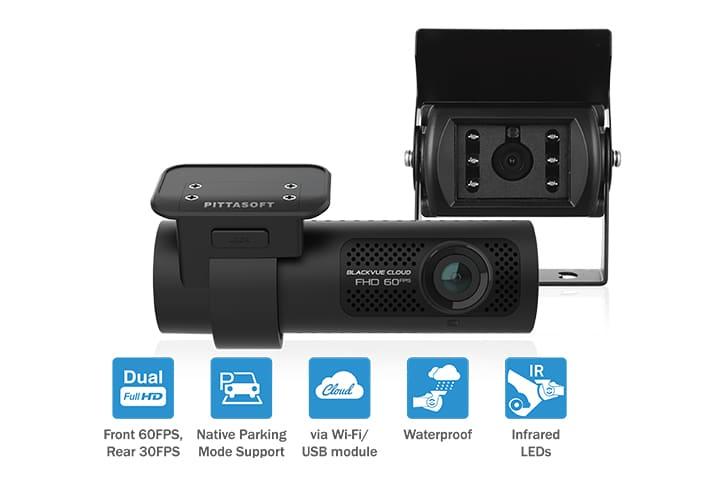 دوربین کامیون انلاین ضد آب هوشمند blackvue یکتانگر