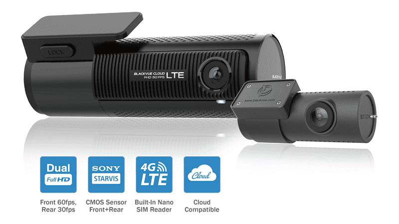 دوربین خودرو سیم کارت خور بلک ویو blackvue 750LTE