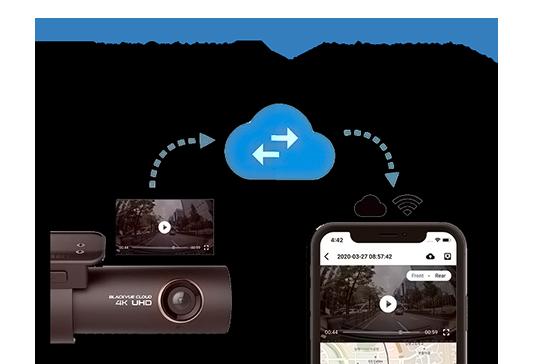 دوربین خودرو هوشمند حرفهای آنلاین بلک وو