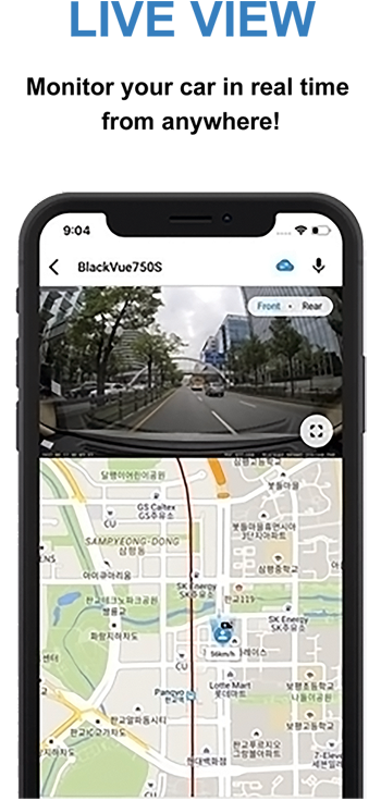 دوربین ماشین آنلاین قابلیت نظارت از راه دور خودرویی