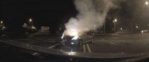 دوربین ماشین دش کم شاهد خاموش در تصادف