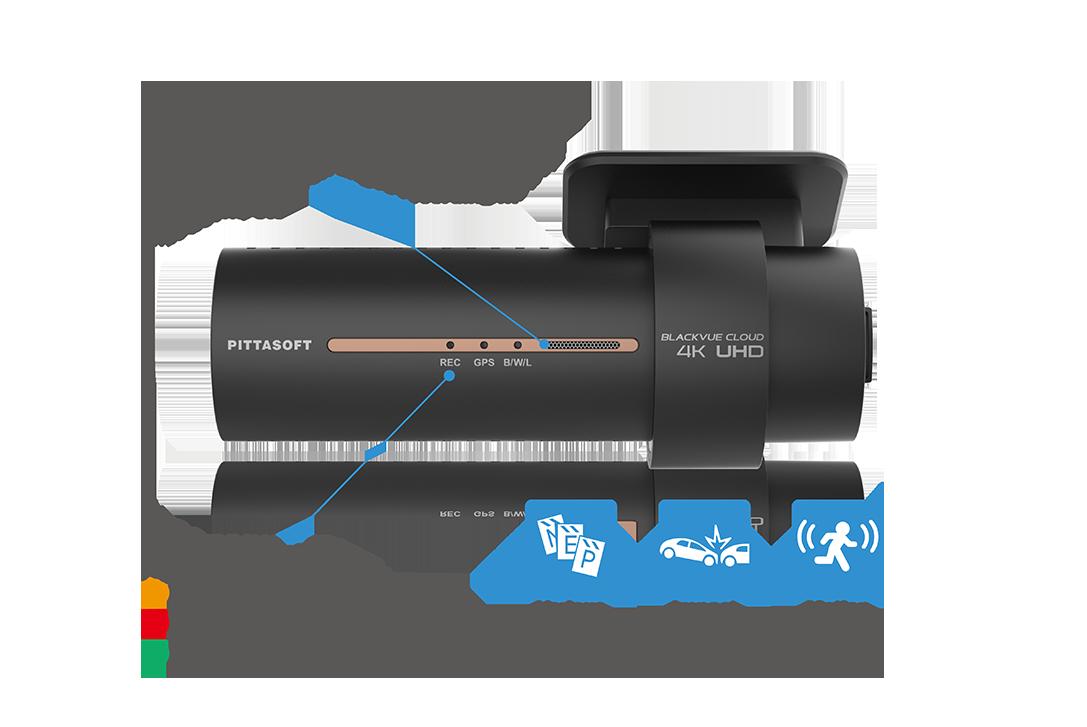 دوربین خودرو پلاس هوشمند تشخیص حرکت ضربه blackvue