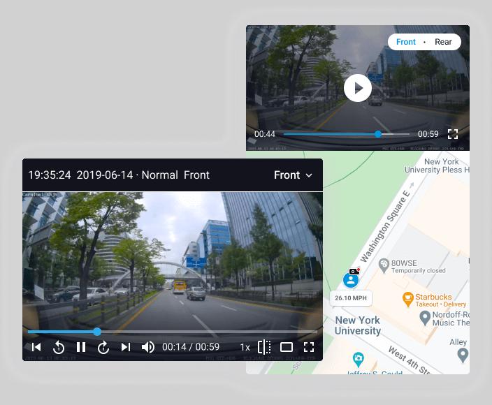 بازبینی تصاویر ضبط شده دوربین خودرو remote-video-playback