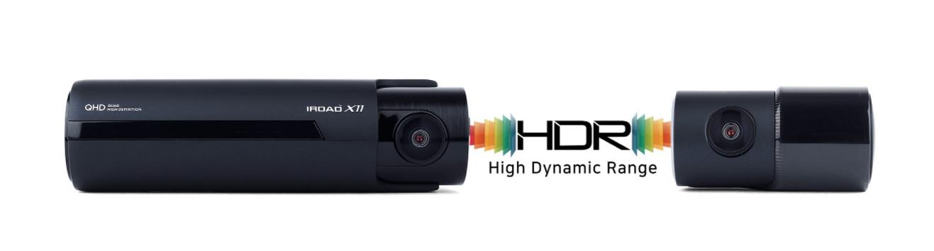 دوربین خودرو با HDR واقعی IROAD X11