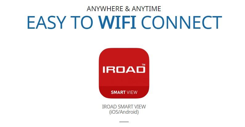 وای فای دار برای اتصال به تلفن همراه iroad x11